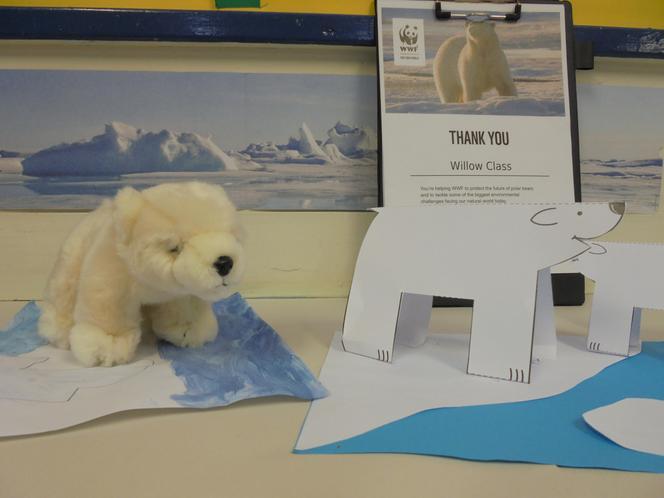 Willow's Polar Bear