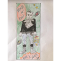 Evie's Rock 'n' Roll illustration - Year 6