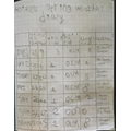 Aoife's Spring Diary - Year R