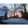 Sunrise at Crockham Hill