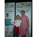 Our School Councillors at the Learning Festival