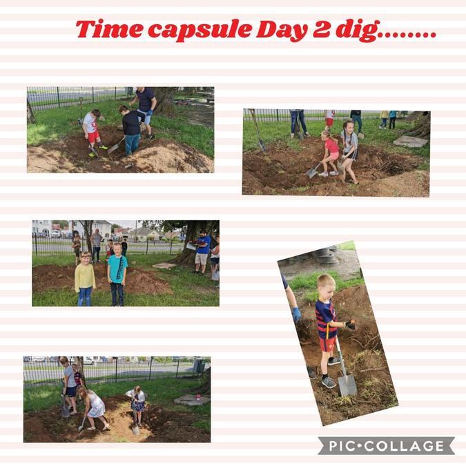 Time capsule dig