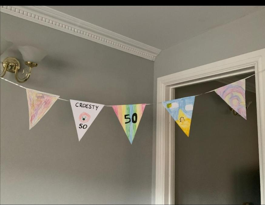 Sophie's bunting