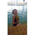 Eve Wharton 1PB - Swimming