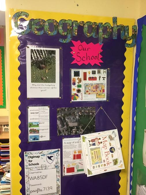 Year 1 class display