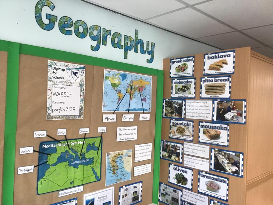 Year 4 class display