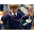 We made our own dragons.