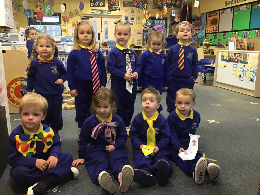 We wore and made ties as part of United Against  Bullying week.