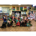 We came dressed up as our favourite characters.