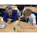 Investigating conductivity.
