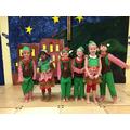 We were Santa's elves.