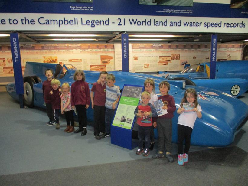 Donald Campbell's bluebird replicas