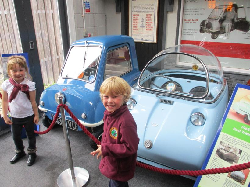 The smallest car in the world