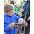 We made stone-age tools and weapons
