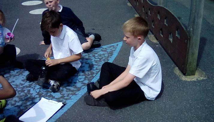 A first attempt at using a force meter for Year 5.
