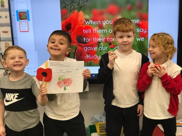Remembering in Year 1