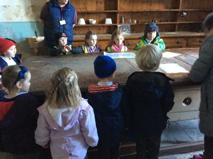 We visited Dunster Castle.