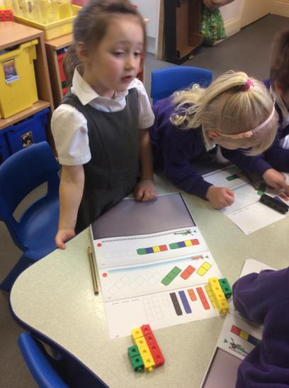 Counting repeating patterns.