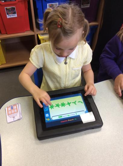 Year one ordering in maths.