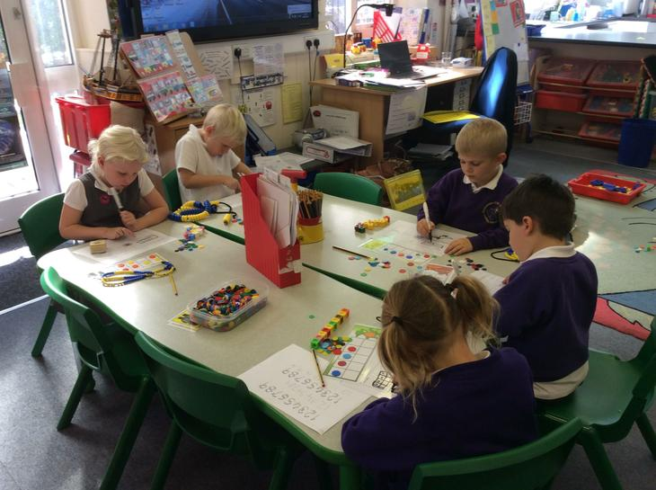 Year one representing numbers in lots of ways.