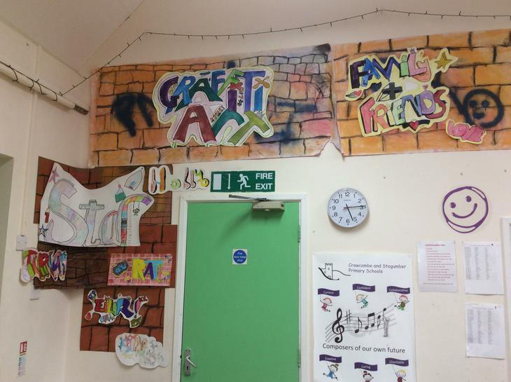 Graffiti display