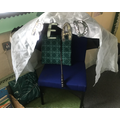 Class 2 love their cosy reading corner!