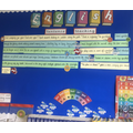 Class 3's super sentence stack inspired by their class novel: The Nowhere Emporium.