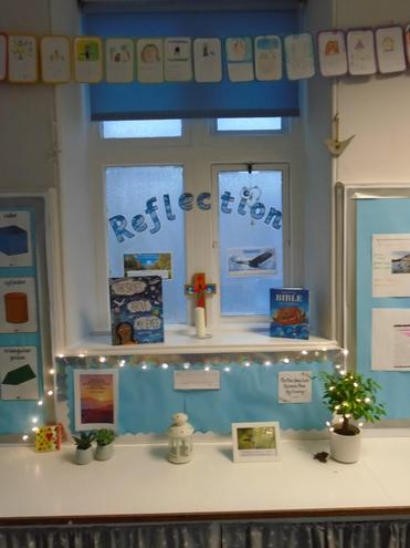 Our Reflection area