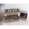 Phoebe's monkey enclosure