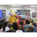 Pudsey came to our classroom!