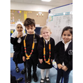 We acted and retold the Diwali story of Rama and Sita