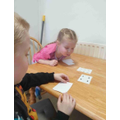 Playing maths games following school plans