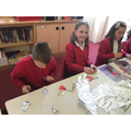 Making Boudicca sculptures inspired by Alberto Giacometti