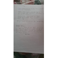 Bella wrote a lovely letter in RE. Can you guess the story?