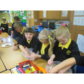 Production - making bird feeders