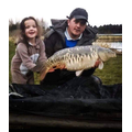 Francessca loves fishing with Dad
