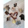 Grace's conker heart shows her love of Autumn!