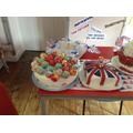 Robin Class cake entries
