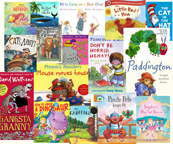Favourite reads at the Foundation Stage