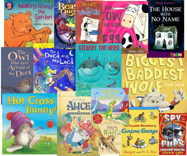 Favourite reads in Key Stage 1