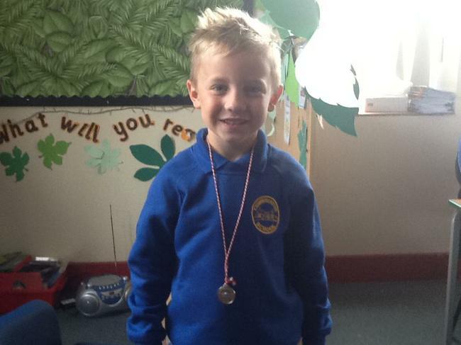 Our first Gymnastics Champion.