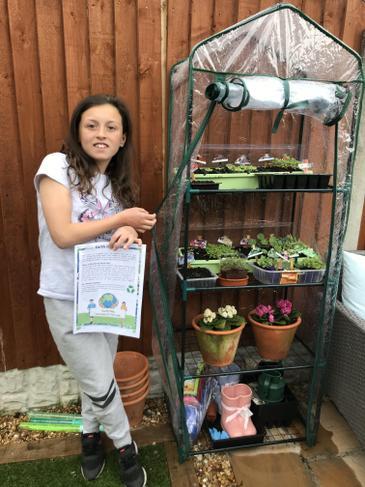Proud gardener!