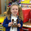 Year One made Chairs for Baby Bear!
