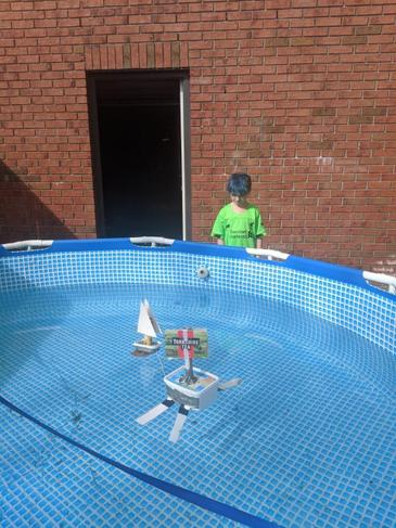 Water resistance experiment