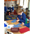 Year 2 made Boats as part of their Seaside topic.