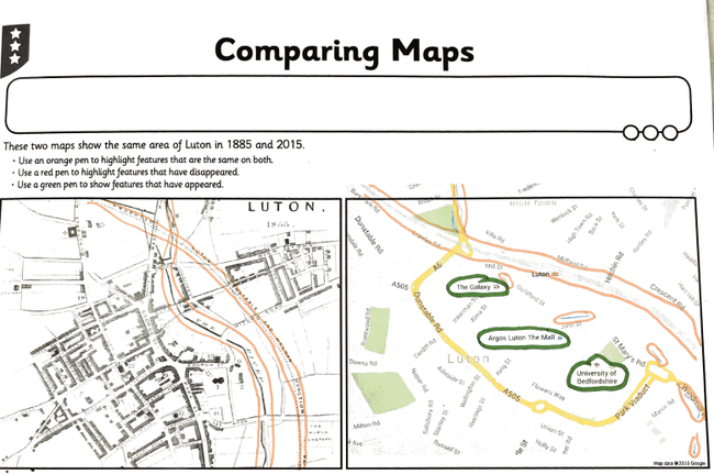 Lewis Irv - Comparing OS maps