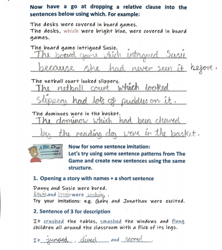 Relative clauses by Lewis Irv
