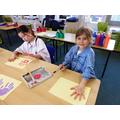 Creating a hand rainbow