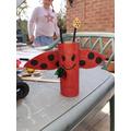 Loo roll ladybird
