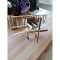 Lollystick aeroplane